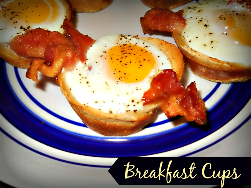 Breakfast Cups / from TheSirensTale.com