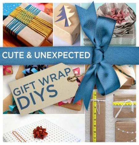 24 DIY Gift Wraps