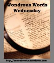wondrous words wednesday