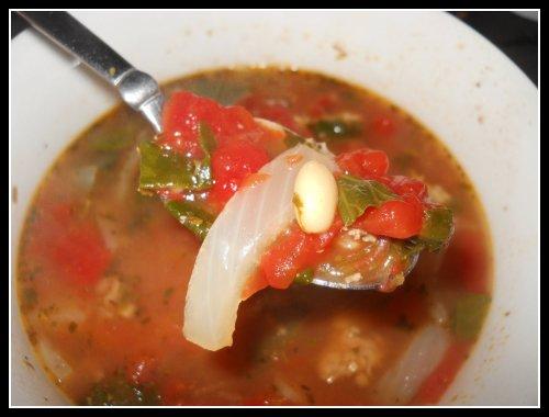 healthy italian turkey soup