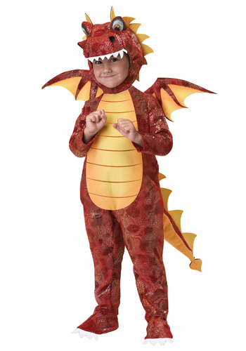 WARNING: Do not let the face fool you. Dragons typically start out semi-acceptable by social standards.