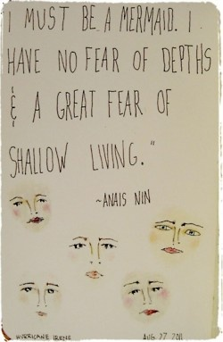 great fear of shallow living