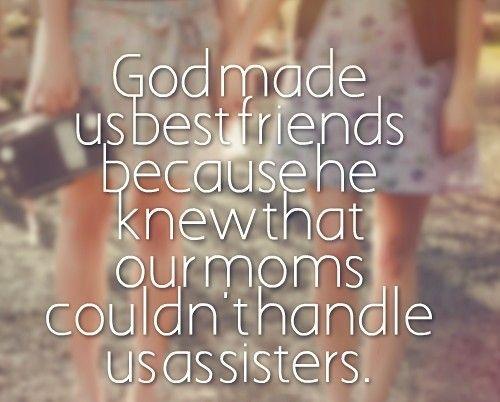 god made us friends