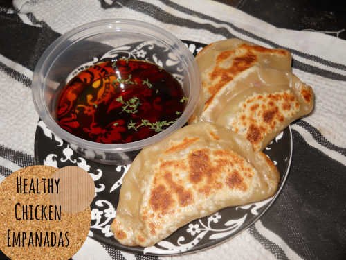 healthy chicken empanadas from the siren's tale