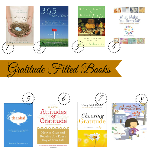 Gratitude Filled Book List / From TheSirensTale.com