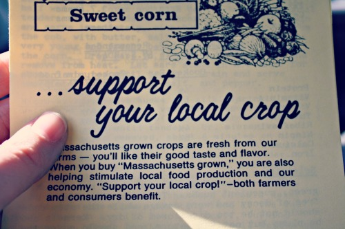 Support Your Local Farmer from The Siren's Tale