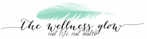 The Wellness Glow banner from thewellnessglow.net