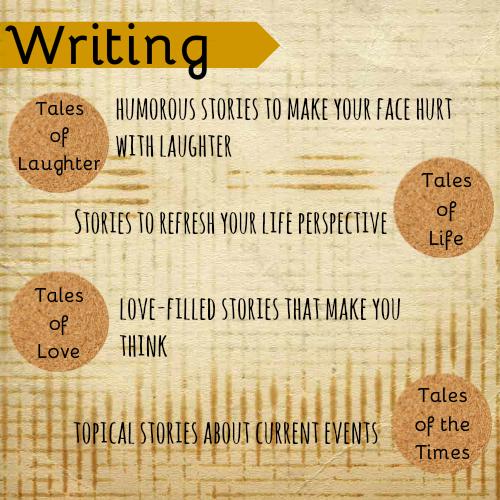 Siren's Tale Writing Categories