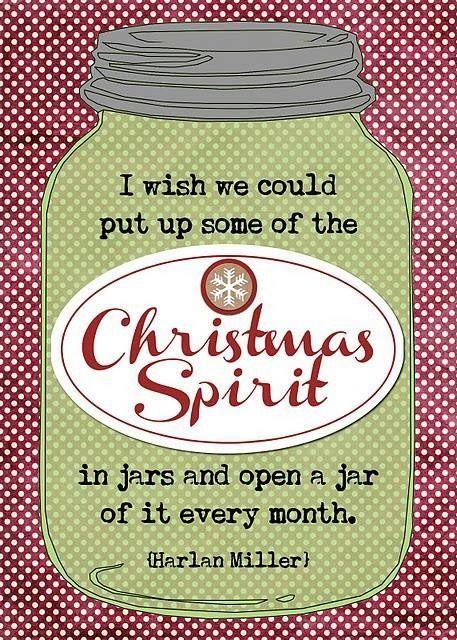 Bottle Christmas Spirit / From TheSirensTale.com