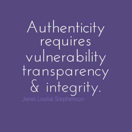 Authenticity Quote / from TheSirensTale.com