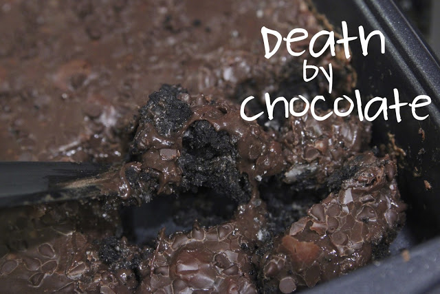 Death By Chocolate from http://www.theladyokieblog.com/