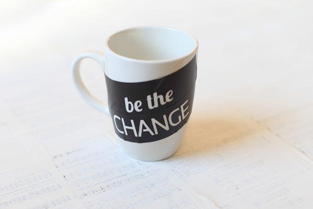 DIY Coffee Mug from http://aharvestofblessing.com/