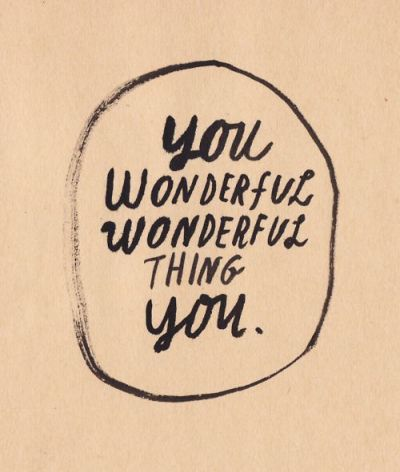 You Wonderful Thing / from TheSirensTale.com
